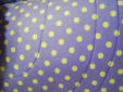 Soft Purple with White Dots